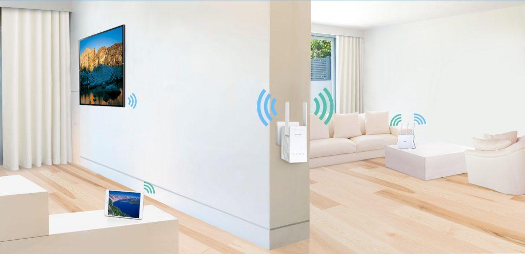 Tăng cường sóng wifi