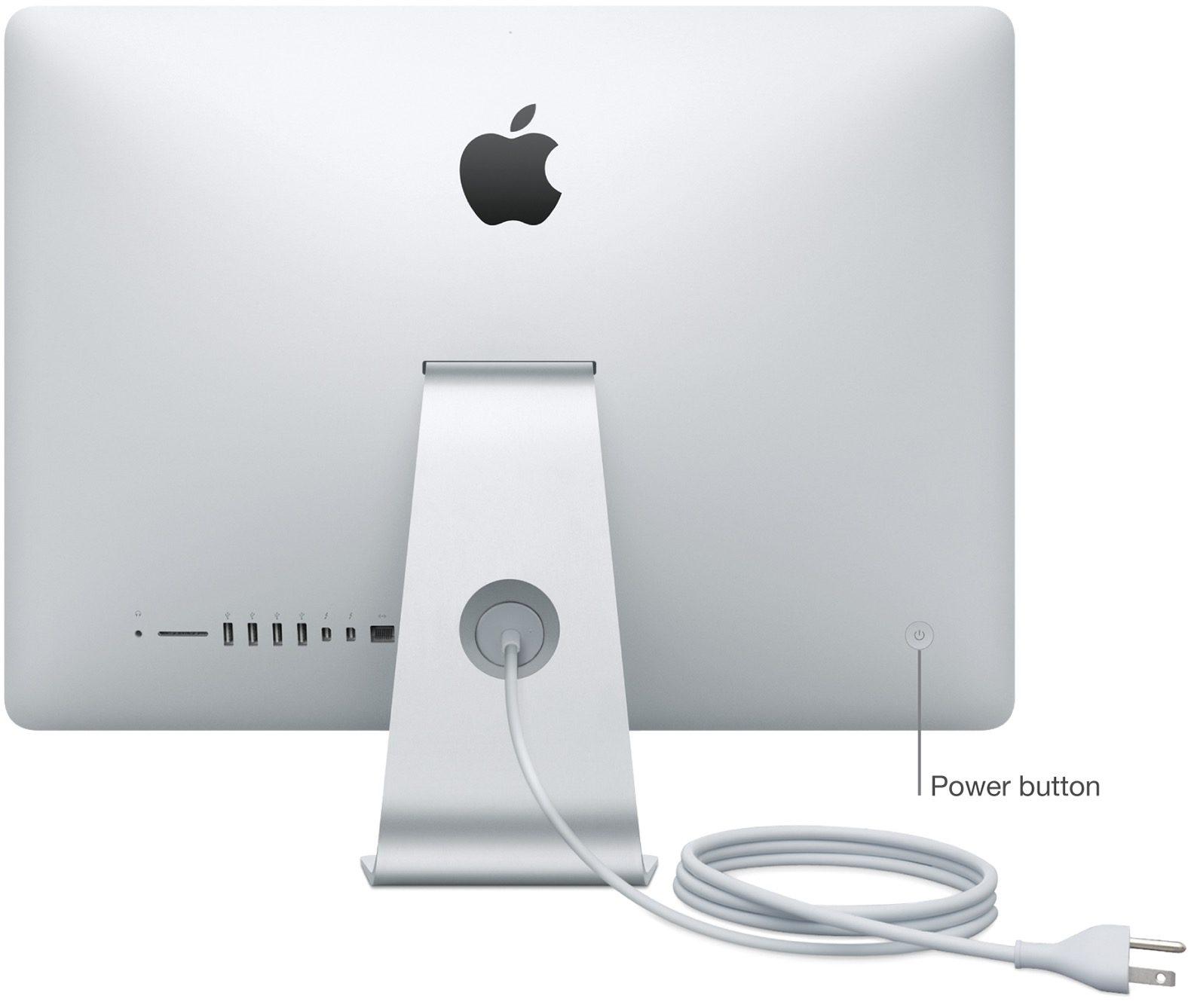 Nút nguồn iMac
