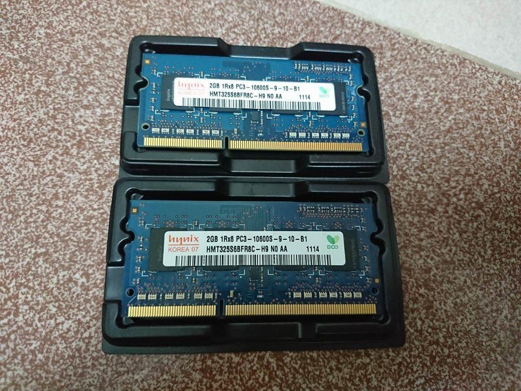 Linh kiện máy tính - 2x Ram 2G Hynix