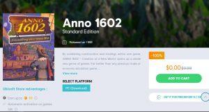 Anno 1602 miễn phí trong thời gian giới hạn trên Nền tảng Uplay của Ubisoft