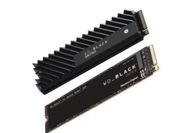 Western Digital WD Black SN750 là SSD NVMe cao cấp với Tản nhiệt Chunky